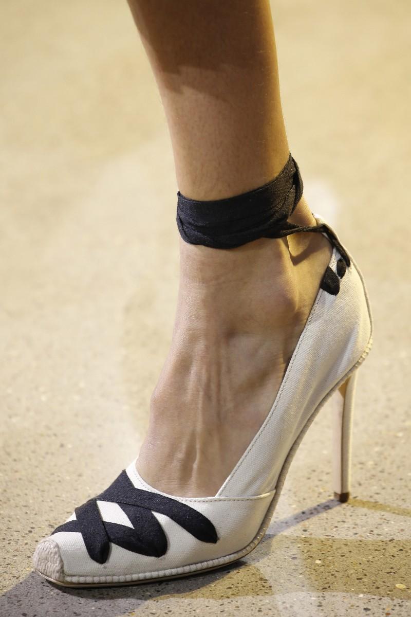 La De Sandalia Pompones Zapatos Los 20 Primavera lK1cJuTF3
