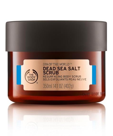 Dead Sea Salt Scrub, The Body Shop