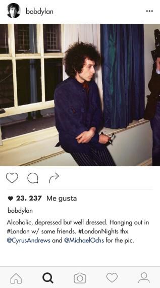 Así hubiera sido el Instagram de un joven Bob Dylan - Foto 1