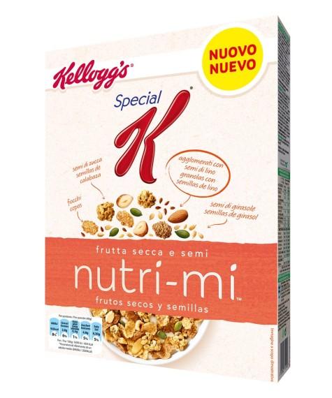 Frutos secos y semillas Nutri-Mi de Kellogg's