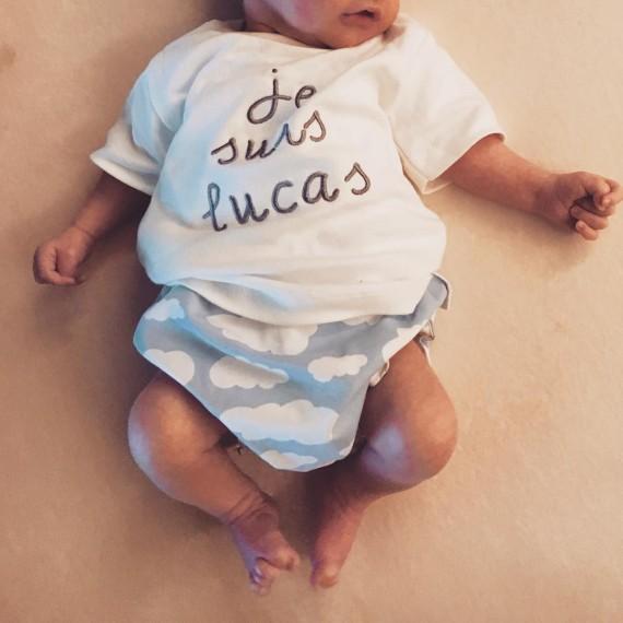 Lucas presume de los mismos labios que Sara Carbonero