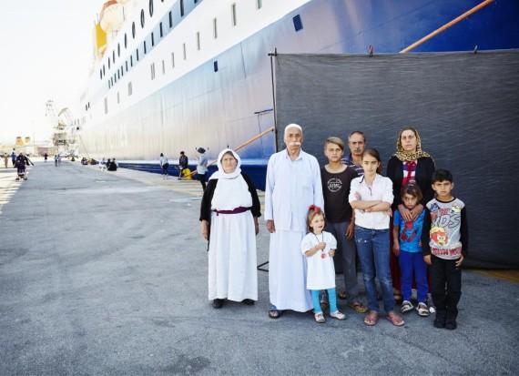 Refugiados en Grecia