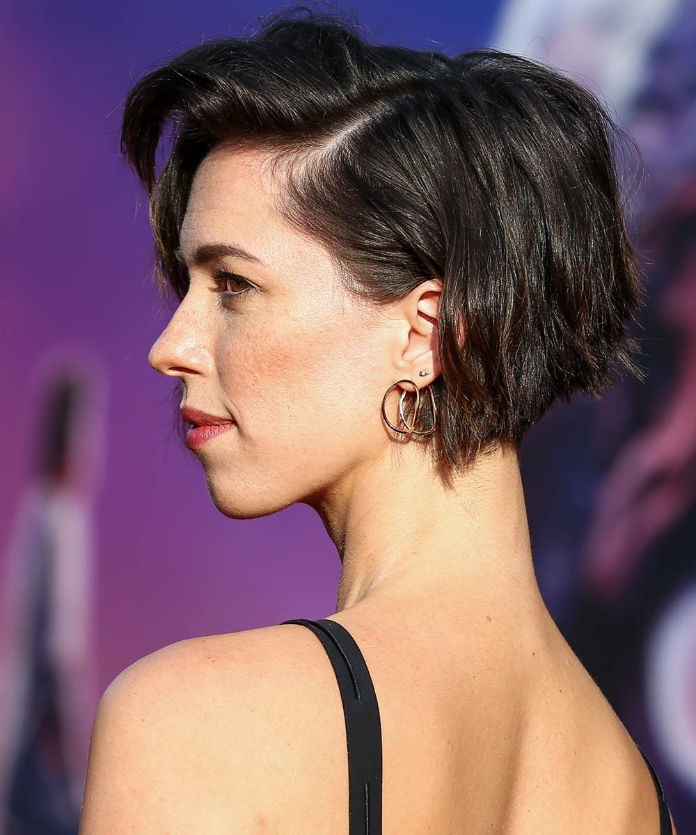 Corte pelo asimetrico mujer