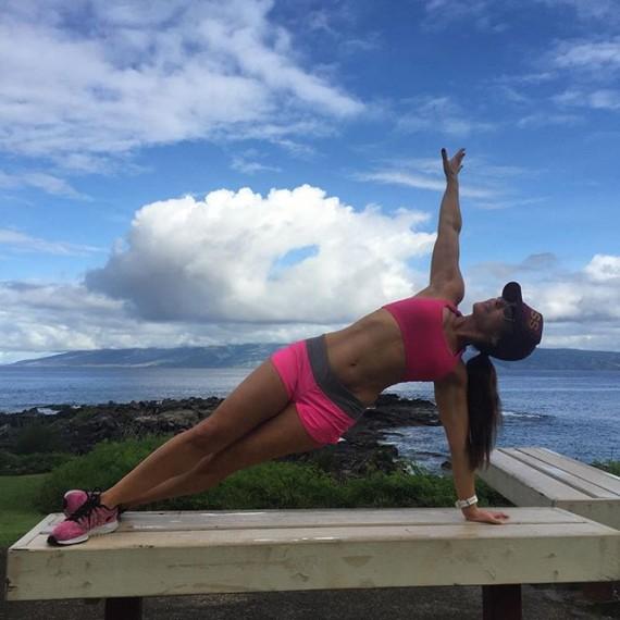 El entrenamiento de Natalie Jill