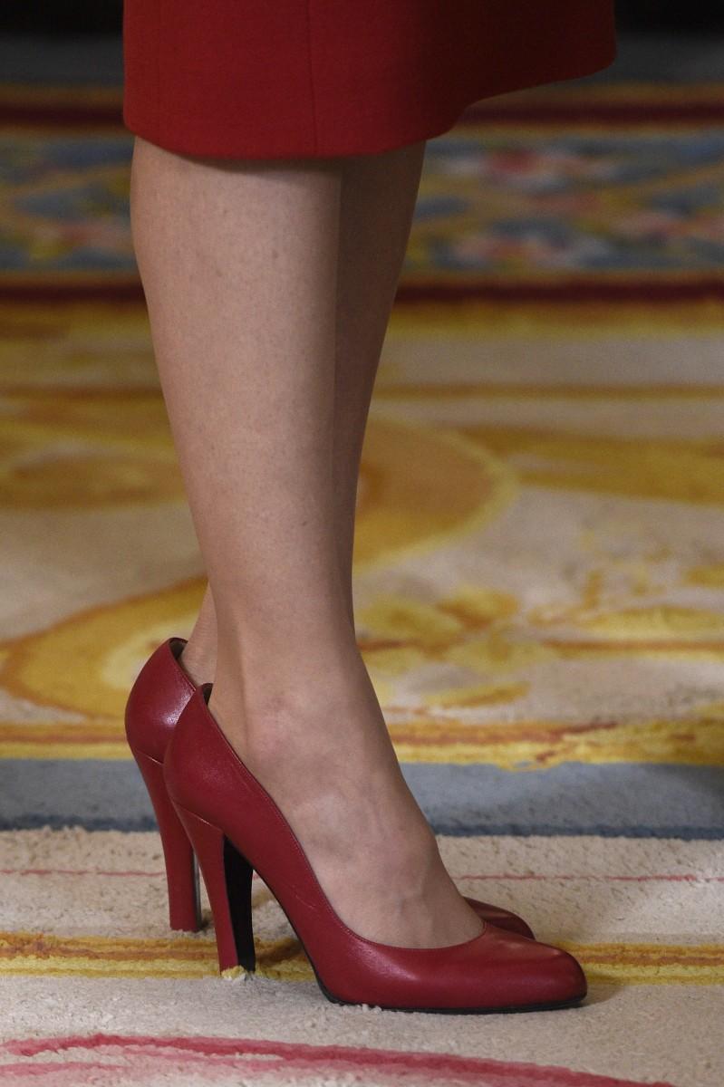 Rojo Los Letizia Zapatos El Clásico De 5L3R4jA