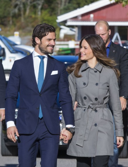 Carlos Felipe de Suecia y Sofía Hellqvist