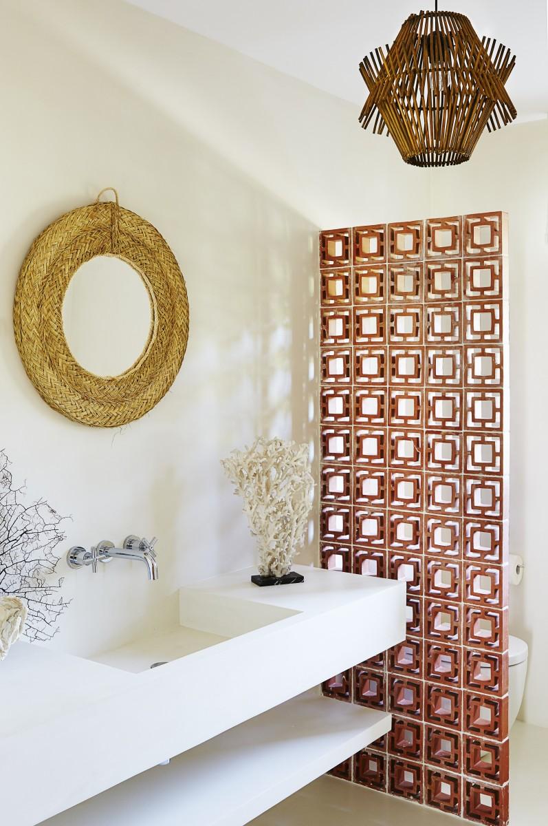 El cuarto de baño - La casa de Serge Castella, en 10 fotos ...