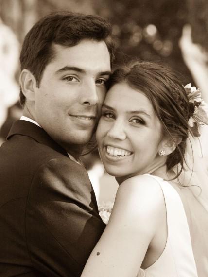 La boda con estilo de Blanca y Carlos