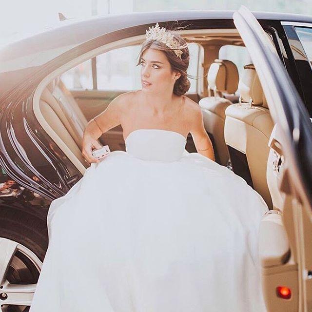 primer vestido de dulceida para la ceremonia - la boda de dulceida y