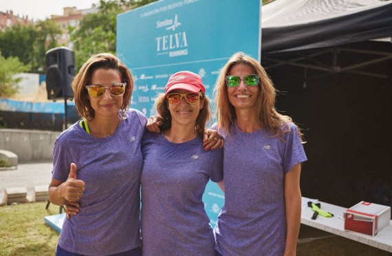 Primer entrenamiento de la Sanitas TELVA Running