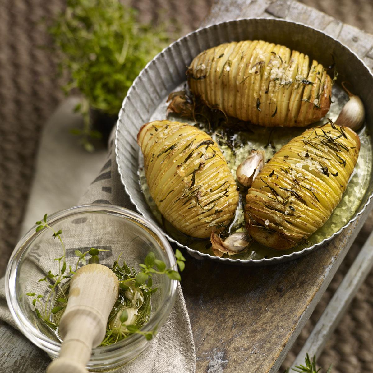 Patata Porner patatas hasselback | receta en telva