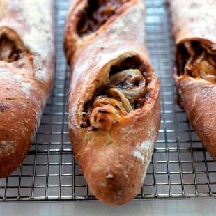 Pan payés con choricitos