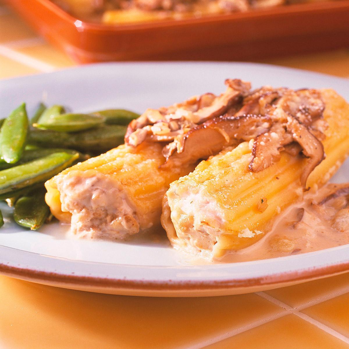 Canelones foie-gras