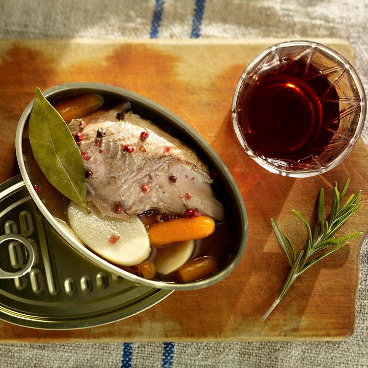 Perdiz escabechada en lata receta en - Calorias boquerones en vinagre ...