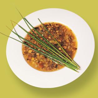 Sopa De Verduras Al Cebollino Receta En Telvacom