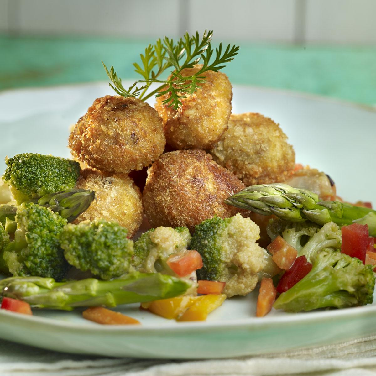 Verduras Crujientes Con Miso Y Miel Receta En Telvacom