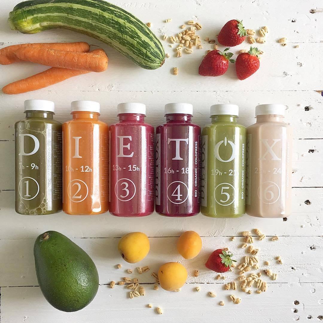 ¡Resetea tu organismo con los zumos Dietox!