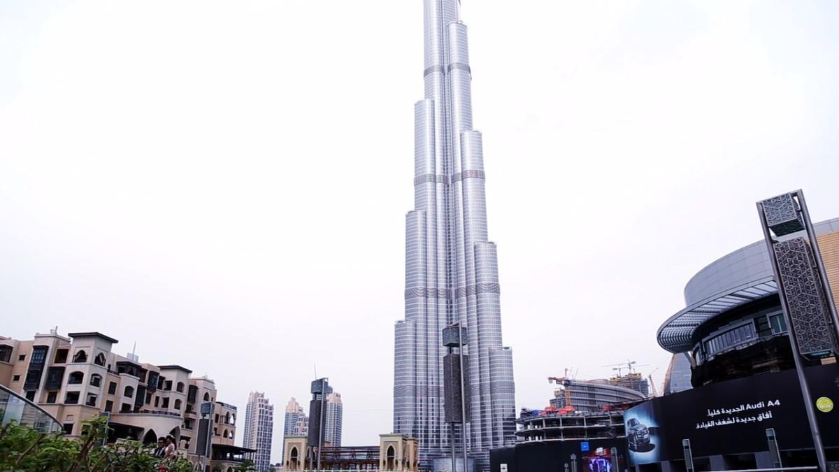 El Burj Khalifa, el edificio más alto del mundo