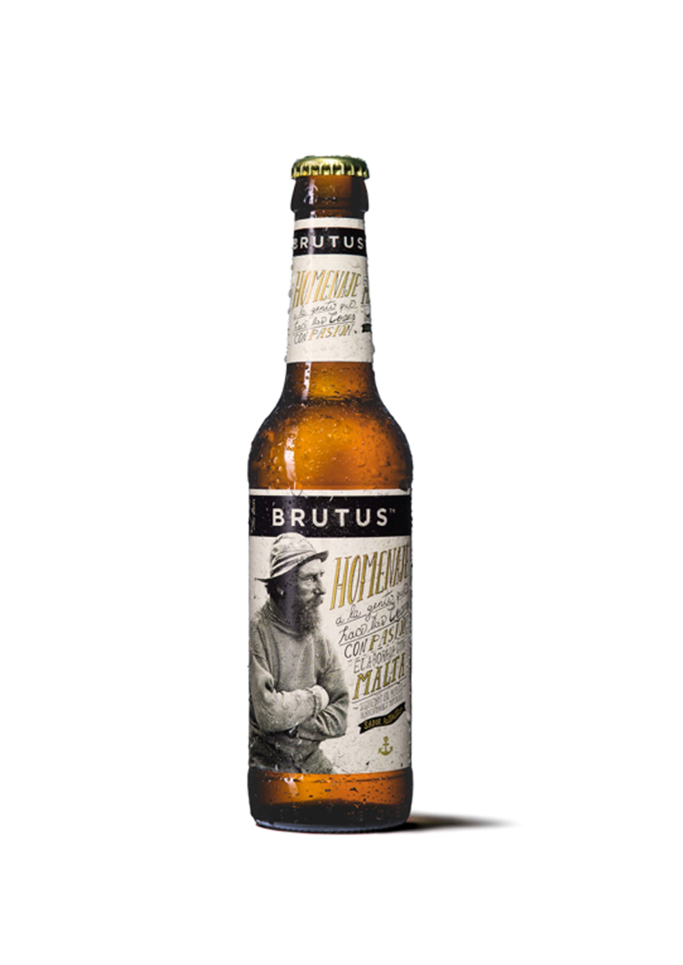 ¡Un capricho para los más cerveceros! BRUTUS es una cerveza lager de...