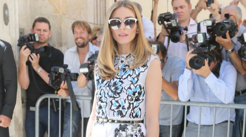 Durante la semana de la moda de París, la it-girl eligió un mini...