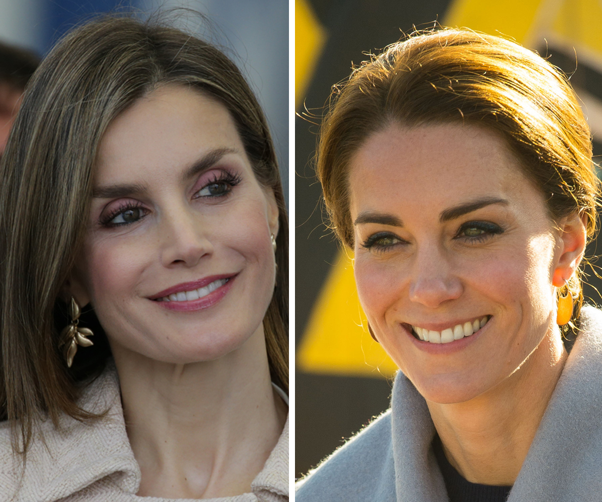 La Reina Letizia y Kate Middleton han sucumbido a las bondades del...