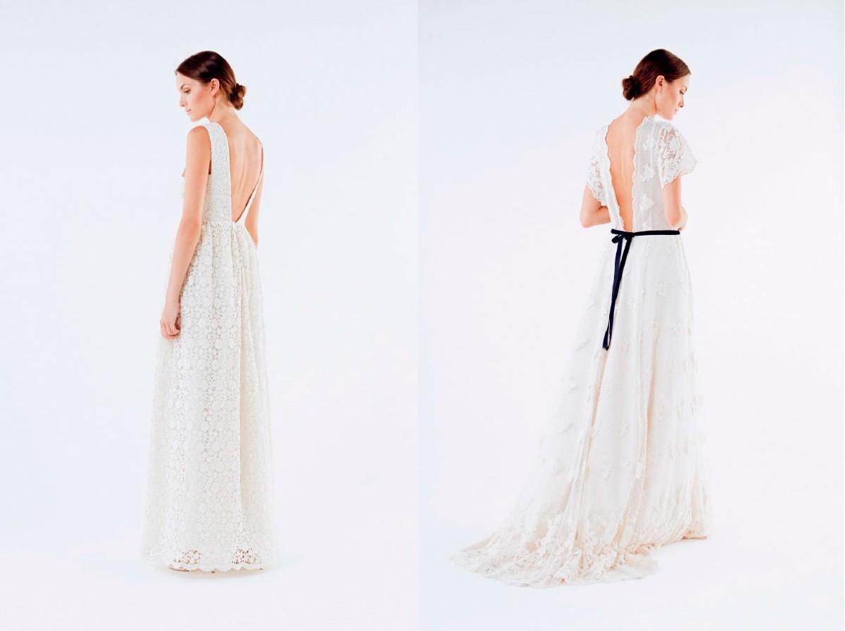 Vestidos femeninos, sencillos y elegantes que se basan en la...