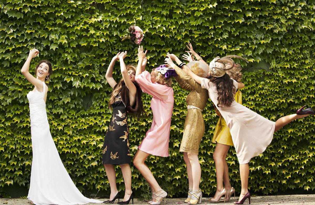 Y tú, ¿lanzarás tu ramo de novia o se lo darás a una invitada...
