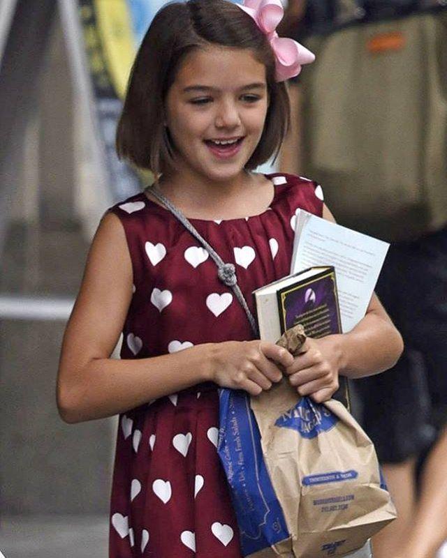 Suri Cruise: 10 años, hija de Katie Holmes y Tom Cruise