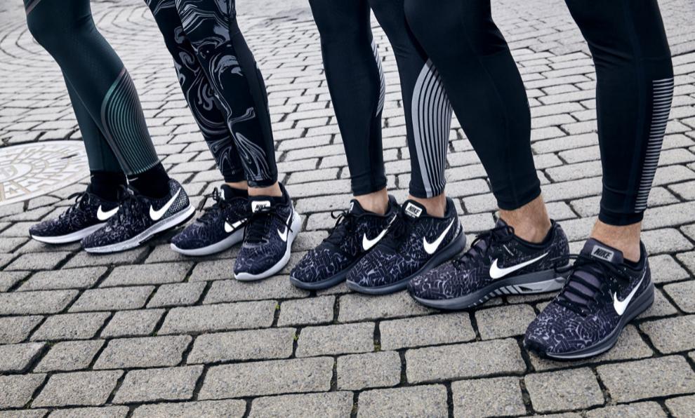 Las nuevas deportivas running Nike x Rostarr que simulan el movimiento...