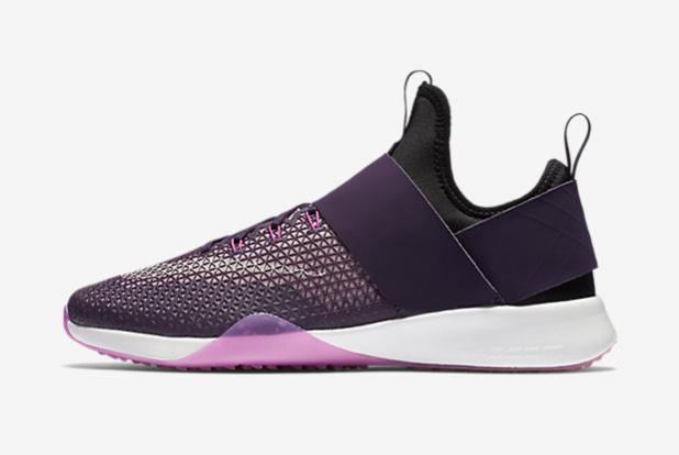 Las nuevas sneakers trainning de Nike Air Zoom Strong color morado