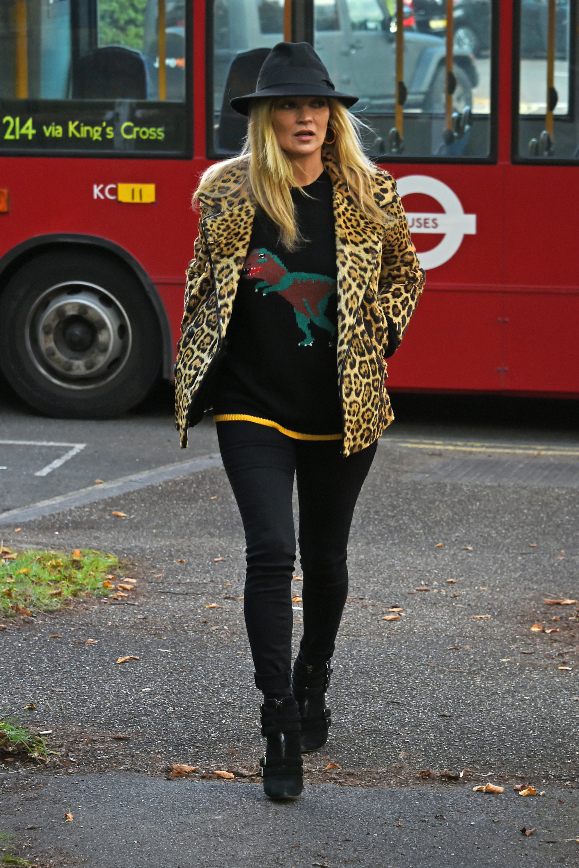 Kate Moss sigue apostando por su estilo más definido