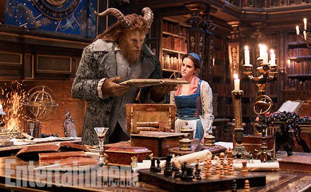 Fotograma de la película de <em>La Bella y la Bestia</em>.