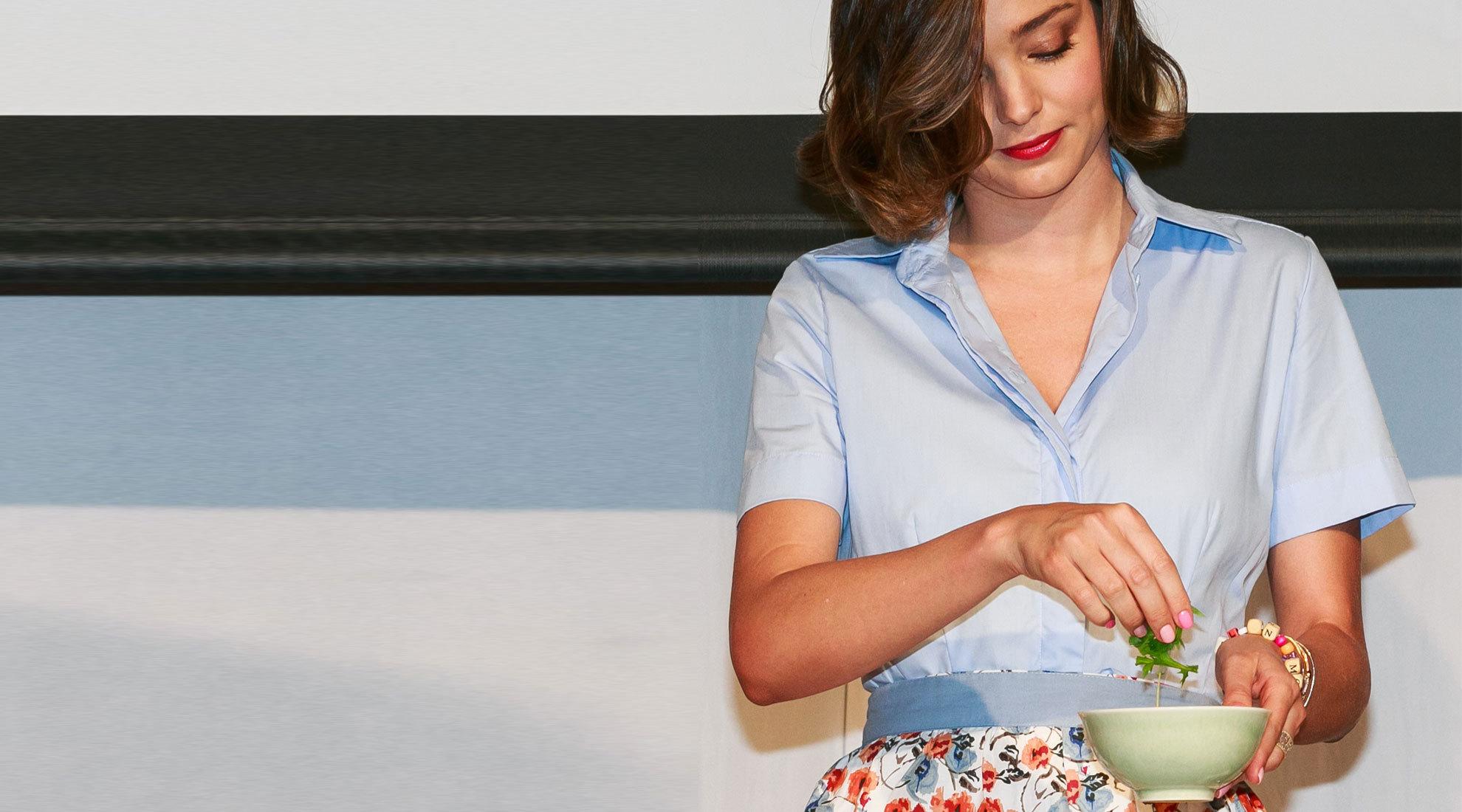 Miranda Kerr es fan de las sopas y en especial de las de miso con...
