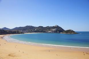 Playa de La Concha.
