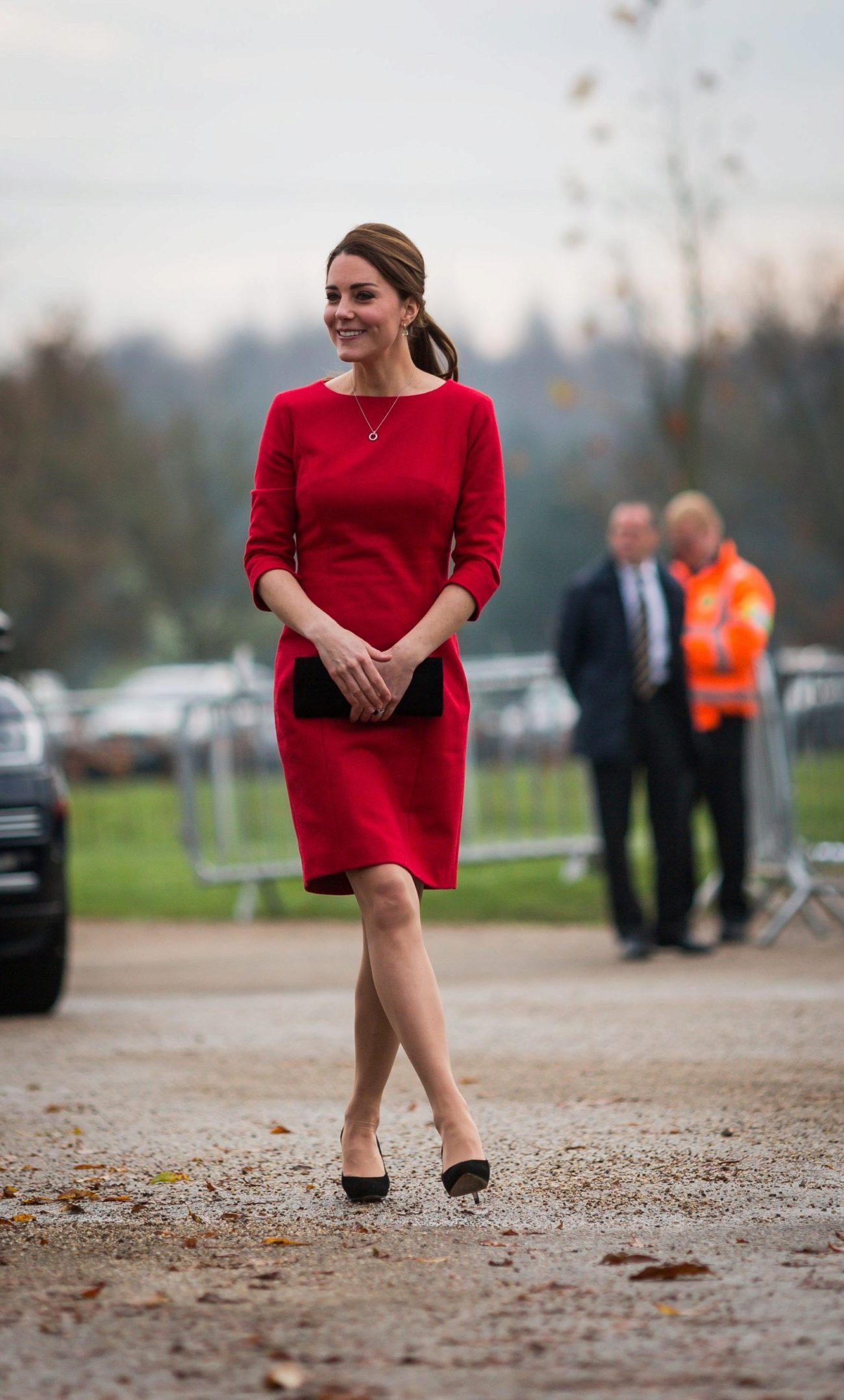 El rojo uno de los mejores aliados de Kate Middleton, la duquesa de...