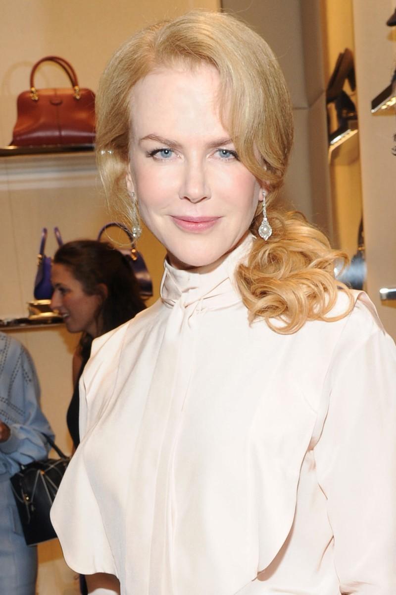 En la actualidad, Nicole Kidman se ha pasado con el botox y los...