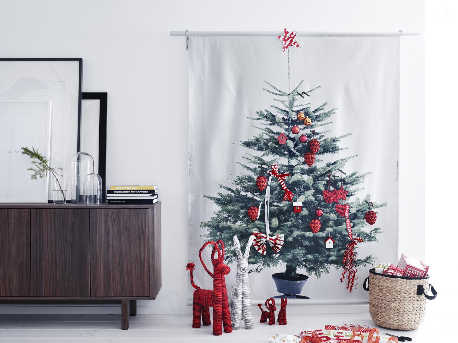 Si no tienes espacio en tu salón para instalar un árbol de navidad...