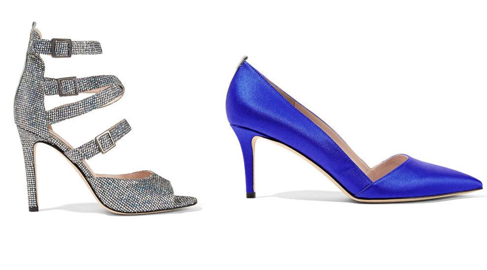 Dos de los zapatos de tacón de la colección.