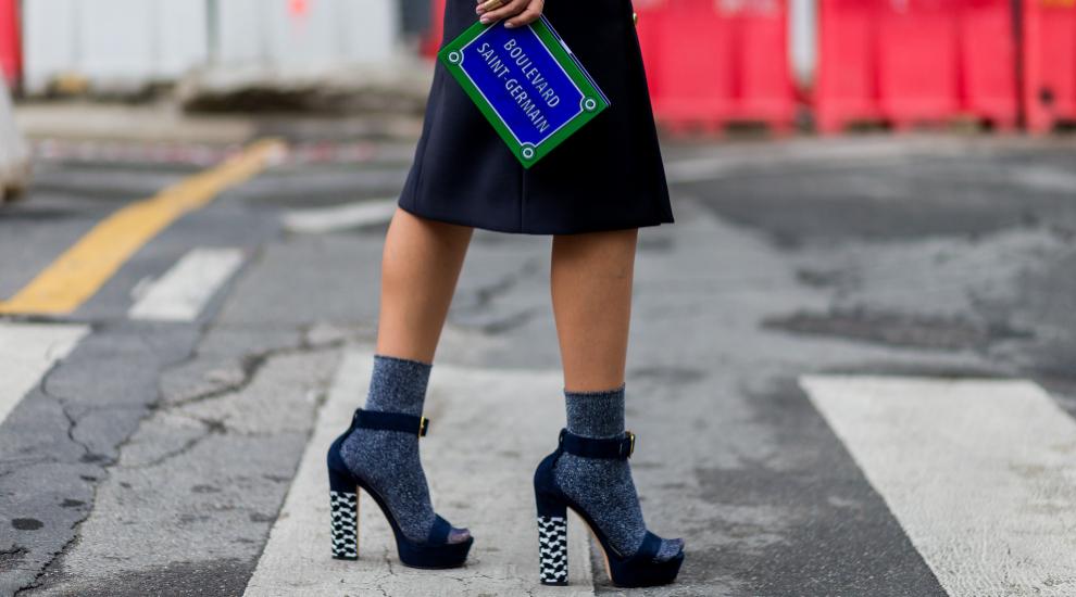 Los calcetines llegan con fuerza este otoño
