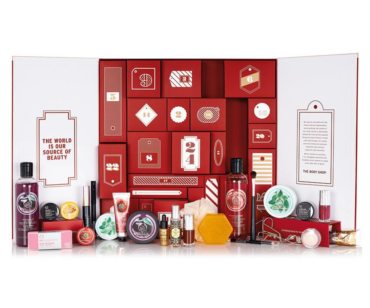 Calendario De Adviento Maquillaje.Calendario De Adviento De The Body Shop Belleza Maquillaje Telva Com