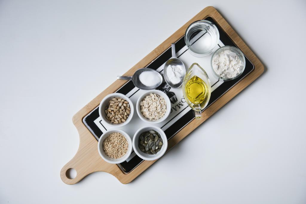 Aceites, mantecas y productos derivados de los ingredientes raw food.