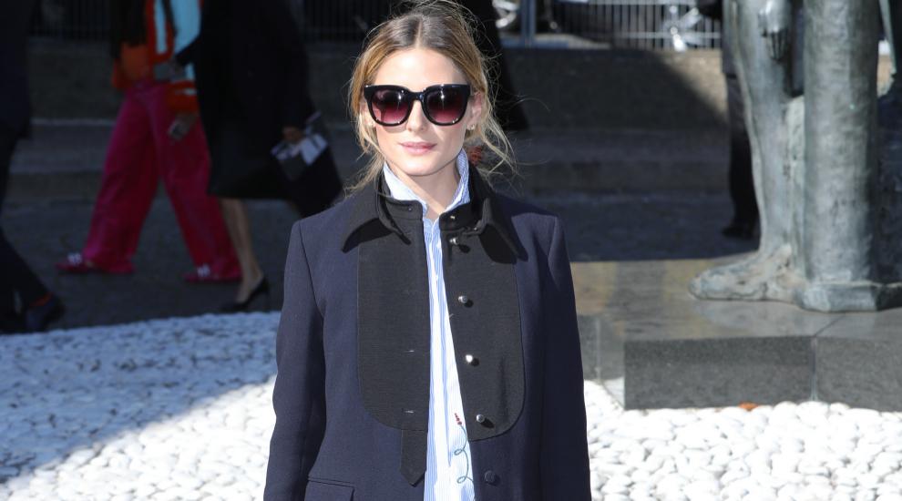 Olivia Palermo ha dictado ya los abrigos de la temporada.