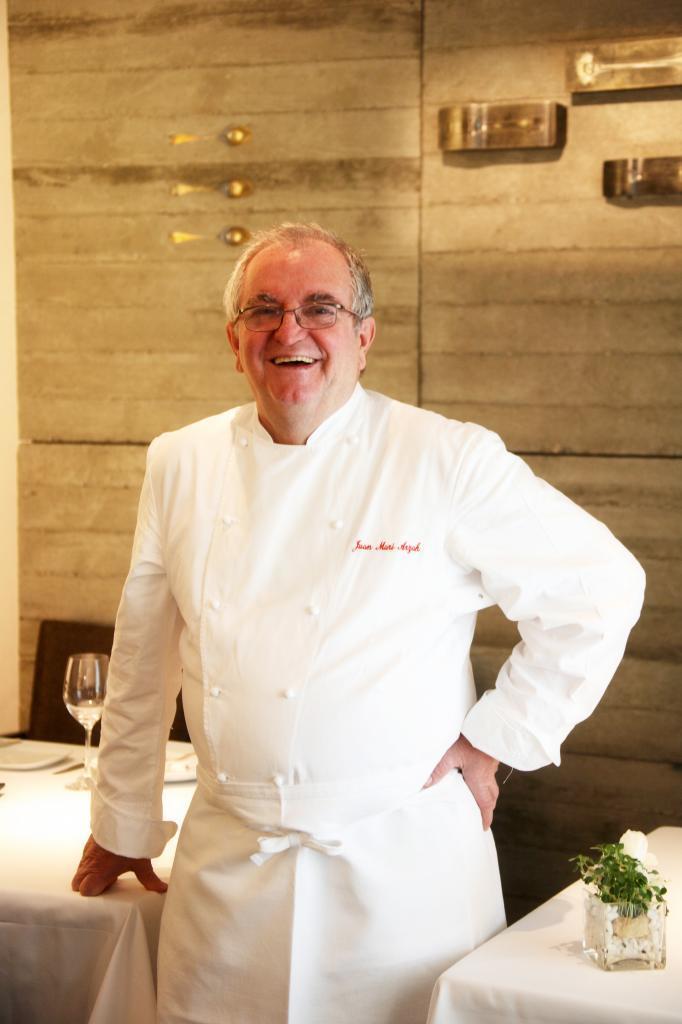 Arzak, de Juan Mari Arzak, posee 3 estrellas Michelin.