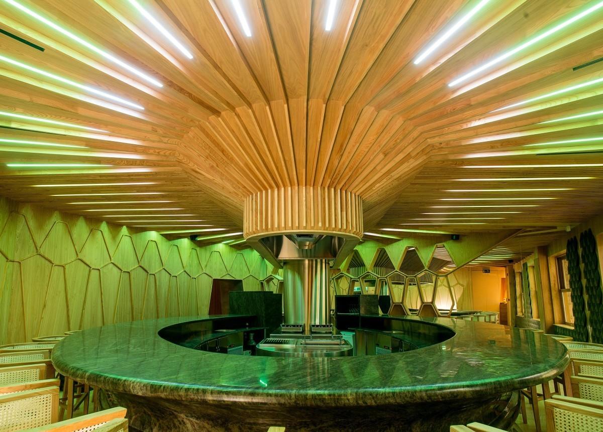 El restaurante A'Barra ya presume de su primera Estrella Michelin.