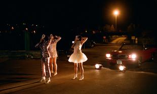 Fotografía del rodaje del <em>fashion film</em> &quot;Etiqueta Negra&quot;, de...