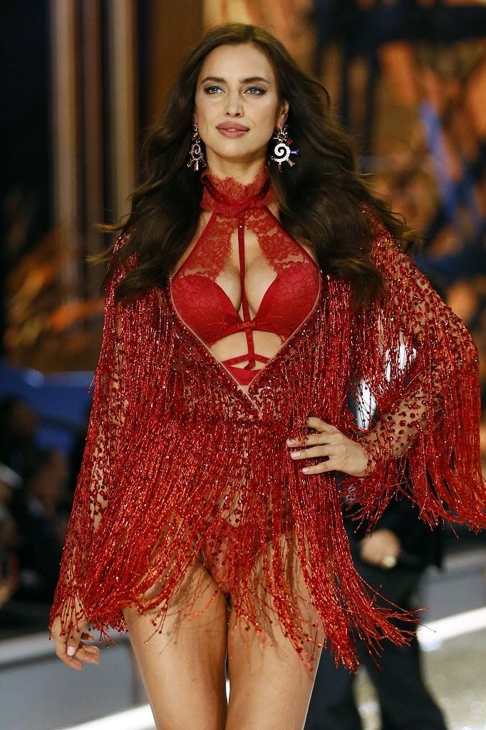 Irina Shayk en el desfile de Victoria's Secret