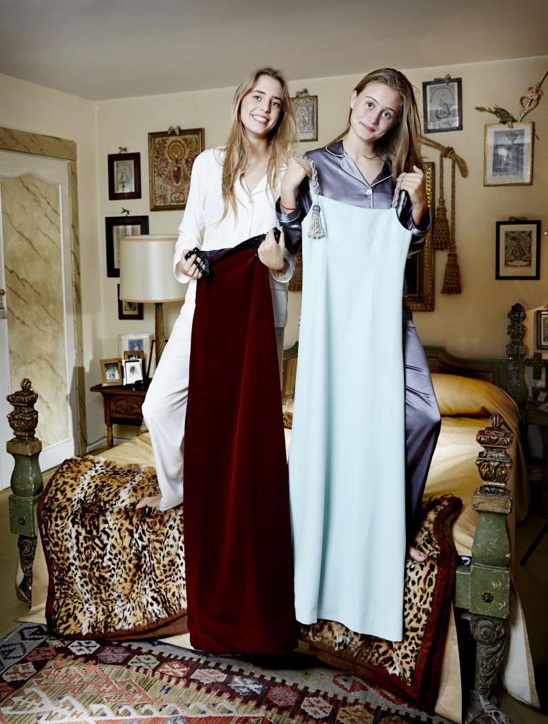 Ana y Beatriz, nietas de Sonsoles Díez de Rivera