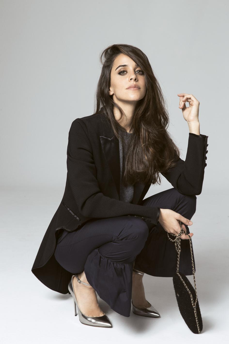 Macarena García posa con pantalón de Bea Valdivia para Pepe Jeans,...