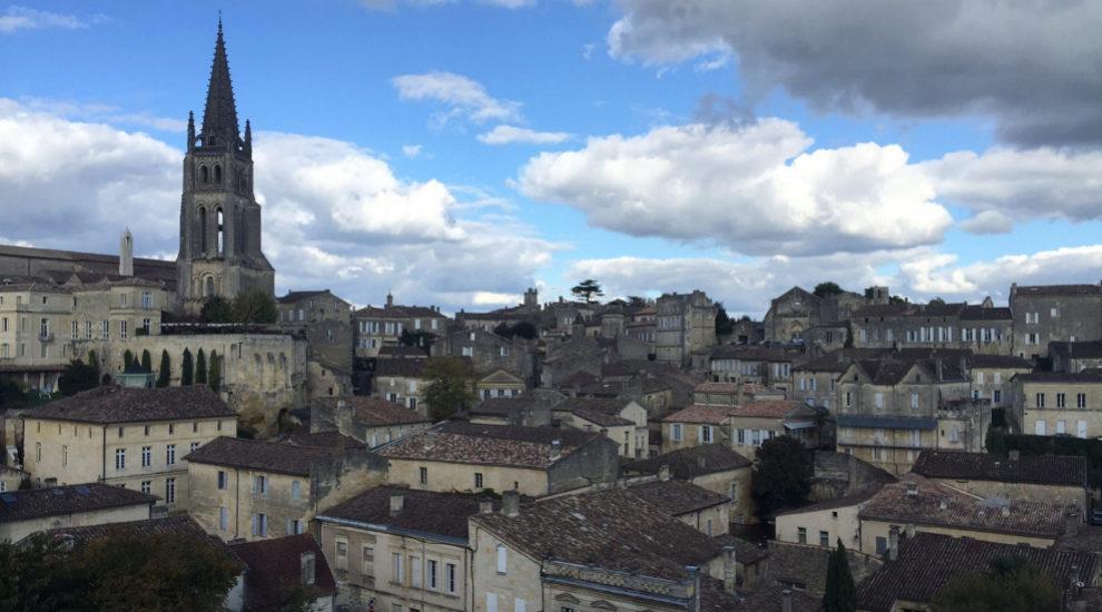 Vista general de Saint-Émilion