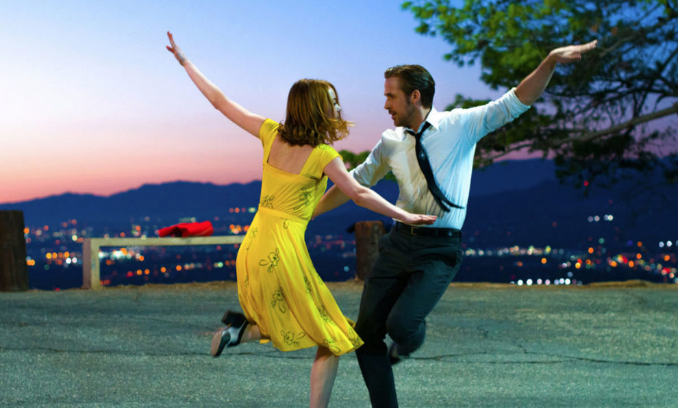 Fotograma de la comedia musical 'La La Land'.